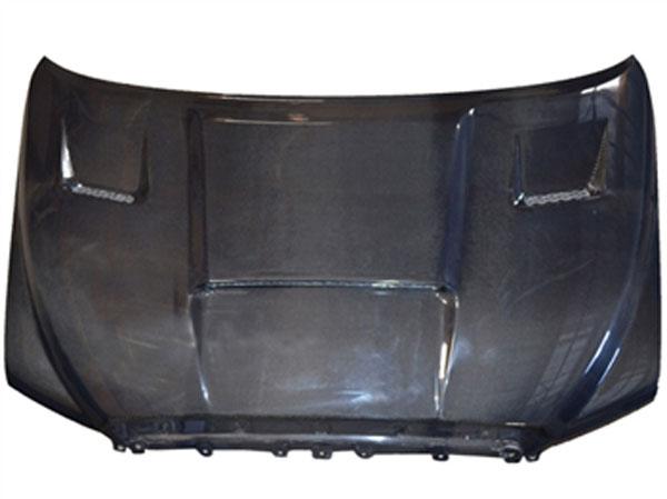 RKSport 43012000 | Tundra Ram Air Hood in Carbon Fiber; 2007-2013