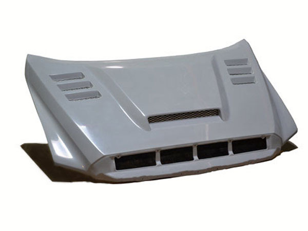 RKSport 43013000 |  Tundra 2014-16 Ram Air Hood with Ram Air Scoop & Heat Extraction Vents