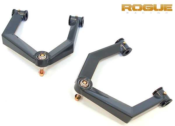 Rogue Racing 441610-04-40-B |  Raptor Front Upper Control Arms with Bushings; 2010-2014