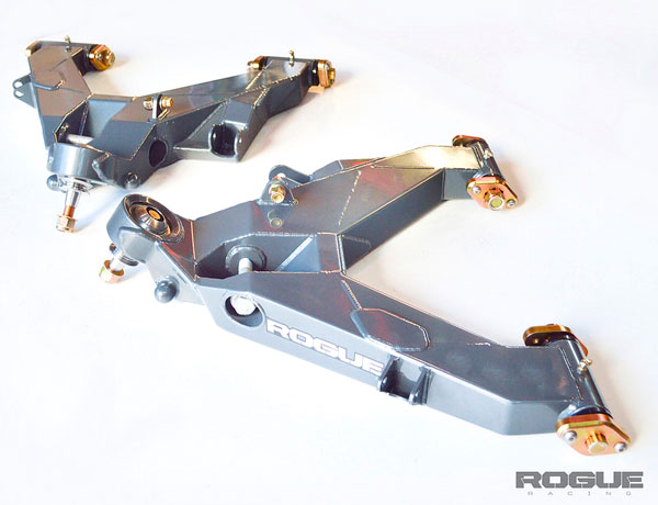Rogue Racing 441610-04-46 | Raptor Front Lower Control Arms with Bypass Pocket; 2010-2014