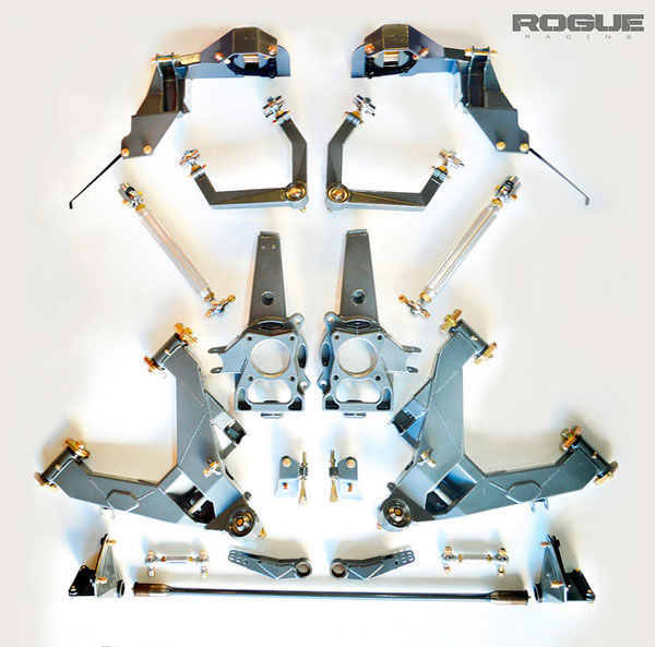 Rogue Racing 441610-04-STG4FR | Raptor Stage 4 Front and Rear Suspension Kit; 2010-2014