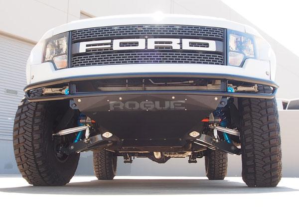 Rogue Racing 441610-91-01 |  Raptor Velocity Front Bumper Satin Black Powdercoat; 2010-2014