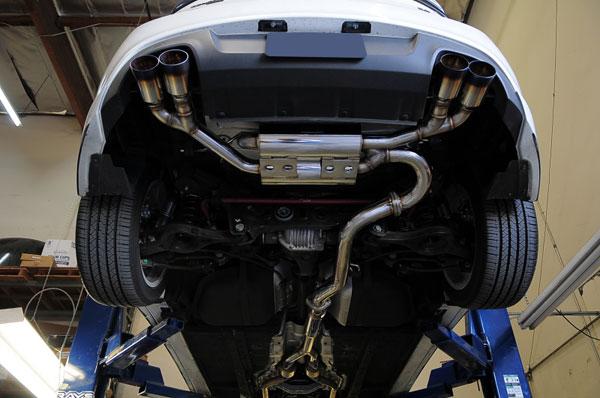 MXP mxspbkt6   10-14 Hyundai Genesis V6 T304 SP Exhaust System; 2010-2014