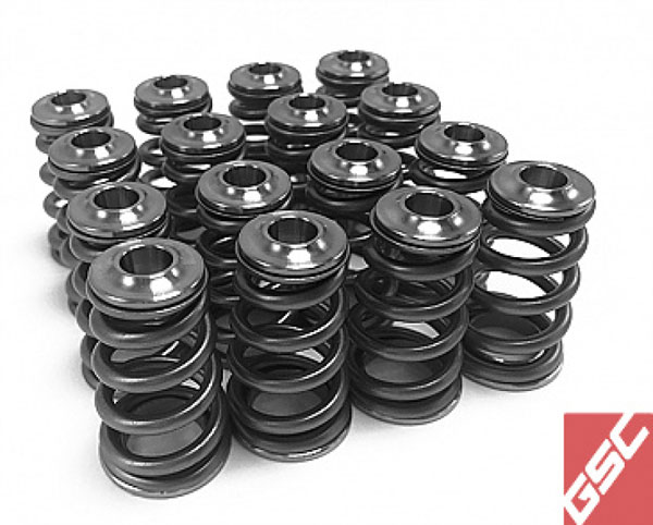 GSC Power Division 5076 | GSC P-D Subaru EJ Series Conical Valve Spring and Ti Retainer Kit