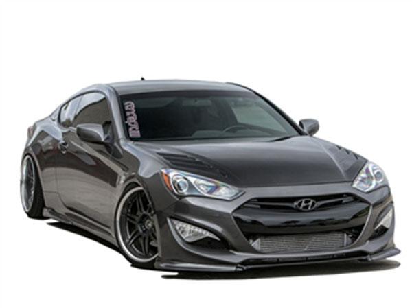 RKSport 49011020 |  Genesis Coupe Hood w/ Carbon Fiber Top; 2013-2015