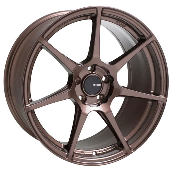 Enkei 516-780-4445zp | TFR 17x8 5x112 45mm Offset 72.6 Bore Diameter Copper Wheel