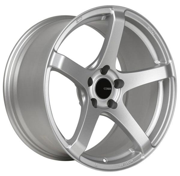 Enkei 476-780-6535sp   Kojin 17x8 35mm Offset 5x114.3 Bolt Pattern 72.6mm Bore Dia Matte Silver Wheel