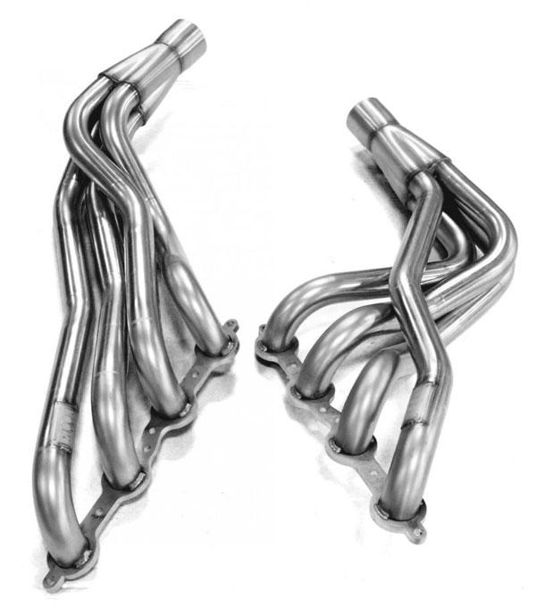 Kooks Headers 2241h430 | Kooks 98-02 Chevrolet Camaro Z28 SS/Pontiac Firebird Trans Am 1-7/8 x3 Header & Green Cat Y-Pipe Kit; 1998-2002