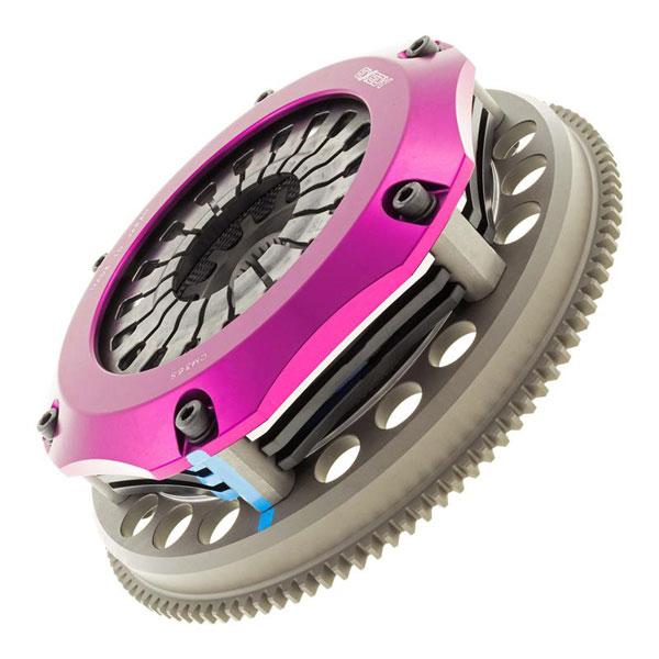 Exedy Racing TM033SBMC1 | Exedy Hyper Triple Carbon-R Clutch Kit TOYOTA SUPRA ALL ALL; w/ 1JZGTE Swap; Rigid Disc; Pull Type; 1991-1992