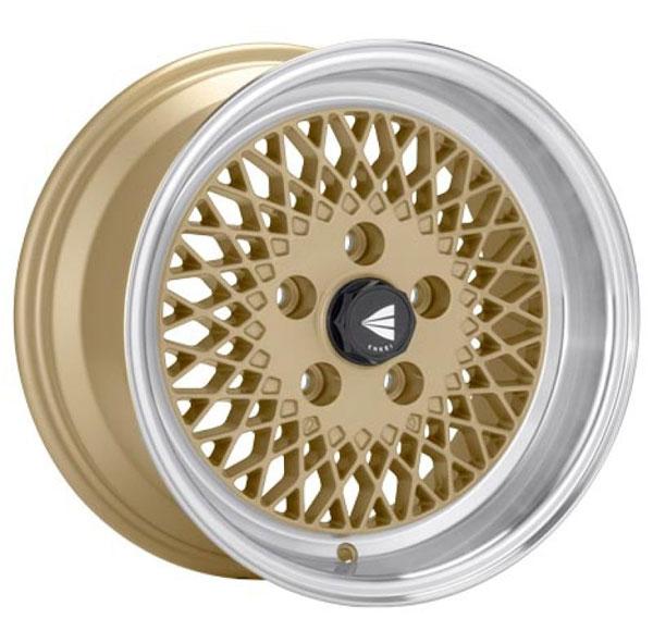 Enkei 465-570-4838gg | 92 Classic Line 15x7 38mm Offset 4x114.3 Bolt Pattern Gold Wheel