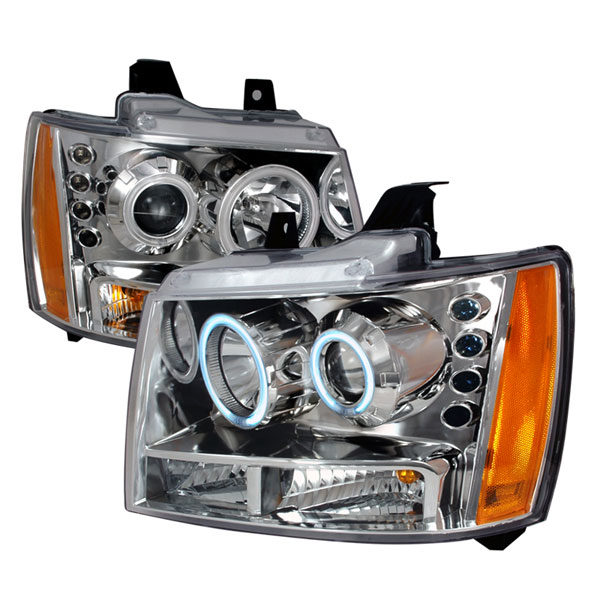 Spec-D Tuning 4LHP-AVA07-KS: Spec-D 07-up Avalanche Projector Headlights