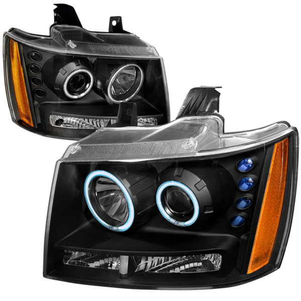 Spec-D Tuning 4LHP-AVA07JM-KS | Spec-D Avalanche Projector Headlights; 2007-2010