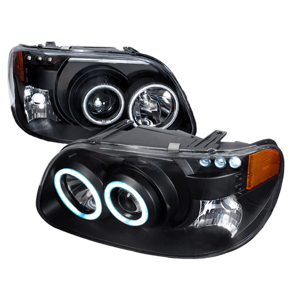 Spec-D Tuning 4LHP-EPOR951PCJM-KS: Spec-D 95-01 Ford Explorer Projector Headlights