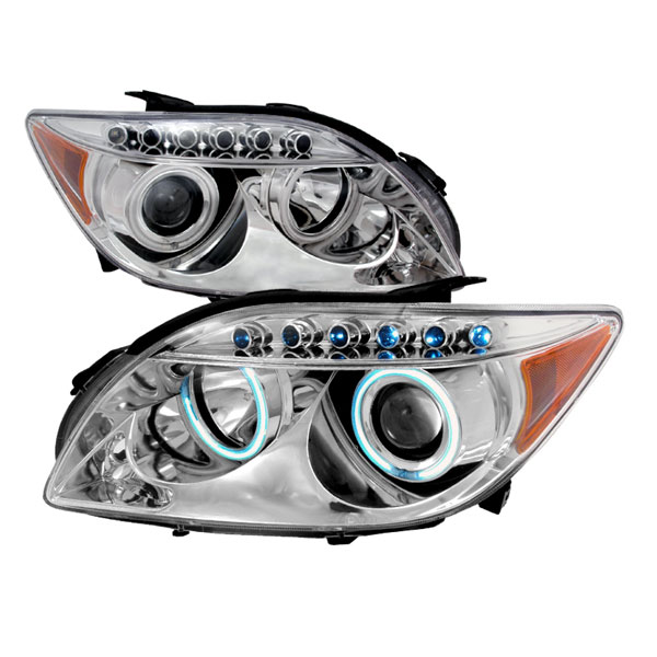 Spec-D Tuning 4LHP-TC05-KS: Spec-D 04-up Scion Tc Led Halo Projector