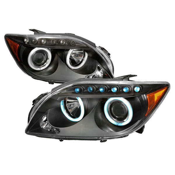 Spec-D Tuning 4LHP-TC05JM-KS: Spec-D 04-up Scion Tc Led Halo Projector