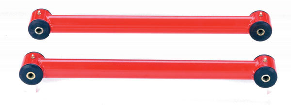 Granatelli 500000:  1982-2002 GM F-Body Rear Lower Control Arm Relocation Brackets - Red