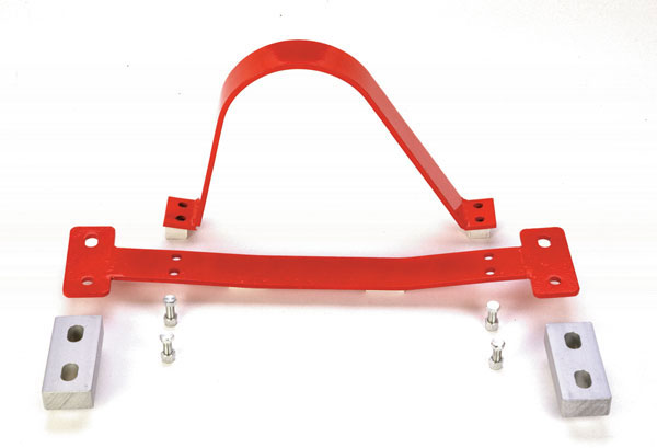 Granatelli 500002:  1993-2002 GM F-Body G-Load Brace with Safety Loop - Red
