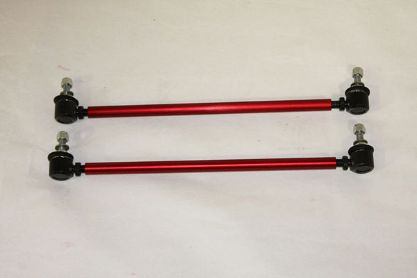 Granatelli 500065-F:  2010-2012 Camaro Sway Bar End Links (Front) in Red