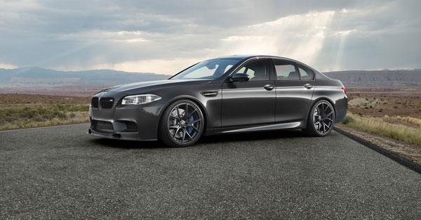 Vorsteiner 5005BMV |  BMW F10 M5 VRS GTS-V Aero Performance Front Spoiler Carbon Fiber PP 1x1 Glossy; 2011-2016