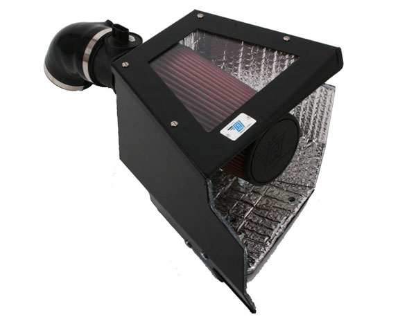 Cold Air Inductions 501-0520-B | - 5.3L Grand Prix Cold Air Inductions Inc. Cold Air Intake System (Black Powder Coated); 2005-2008