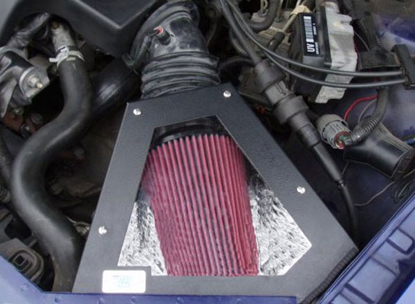 Cold Air Inductions 501-0873-B: 1998 - 2004 3.8L Grand Prix, Monte Carlo, Impala, Regal  Inc. Cold Air Intake System (Black Powder Coated)