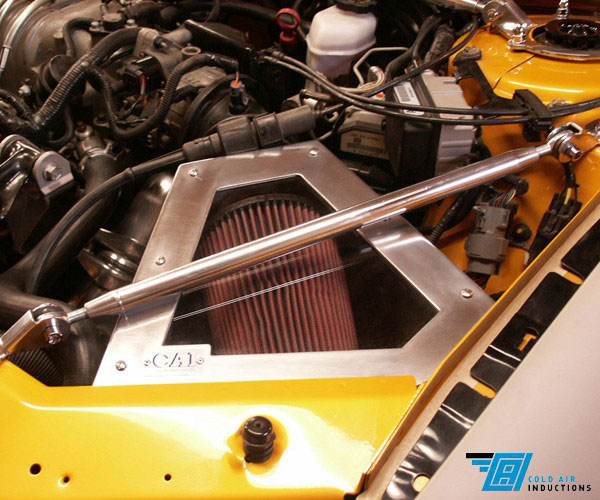 Cold Air Inductions 501-0873 | 1998 - 2004 3.8L Grand Prix, Monte Carlo, Impala, Regal Cold Air Inductions Inc. Cold Air Intake System