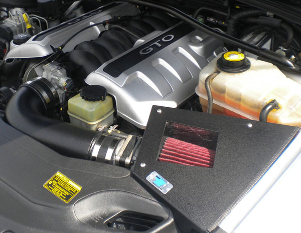 Cold Air Inductions 501-0904-B: 2004 5.7L GTO  Inc. Cold Air Intake System (Black Powder Coated)