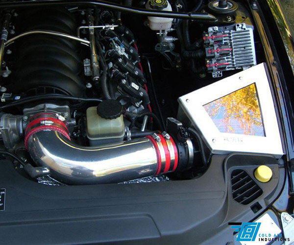Cold Air Inductions 501-0956 | 6.0L GTO Cold Air Inductions Inc. Cold Air Intake System; 2005-2006