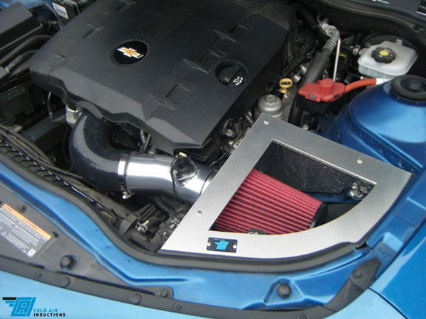 Cold Air Inductions 501-1036-10 | - 3.6L Chevrolet Camaro Cold Air Inductions Inc. Cold Air Intake System; 2010-2011