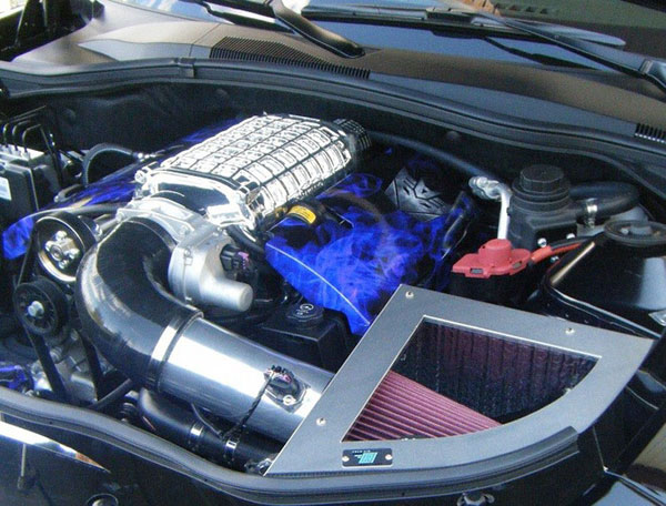 Cold Air Inductions 501-1099-10-M |  Chevy Camaro Cold Air Intake System 2010 - 2014 6.2L w/ Magnuson or Whipple Supercharger