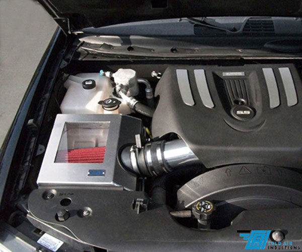 Cold Air Inductions 512-1059-08 | Chevy Trailblazer SS - 5.7L & 6.0L Cold Air Intake System; 2005-2009