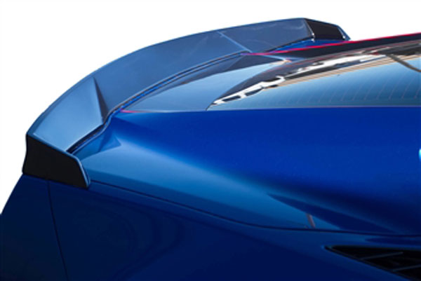RKSport 52011010 | Corvette C7 Stingray Rear Spoiler - Fiberglass; 2014-2019