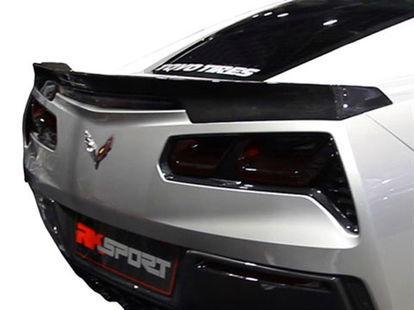 RKSport 52012020:  Corvette C7 Stingray Rear Spoiler - Carbon Fiber