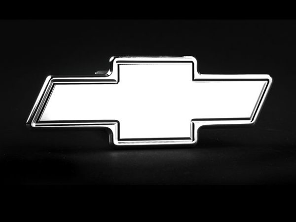 Empire 540P:  Bowtie Emblem Hitch Cover Fits 2 Inch Hitch Receiver