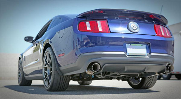 Bassani 5411SR5 |  Mustang Shelby GT500 Axle Back - Race Mufflers V8; 2011-2012