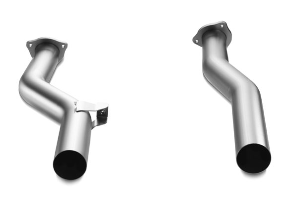 Akrapovic DP-PO/T/1 |  Porsche Cayenne Turbo (958) Front link pipe set (Titanium); 2010-2014