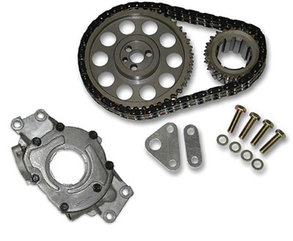 SLP Performance 55002 | SLP Oil Pump/Timing Chain Package, LS1 Heavy-Duty Camaro V8; 1998-2002
