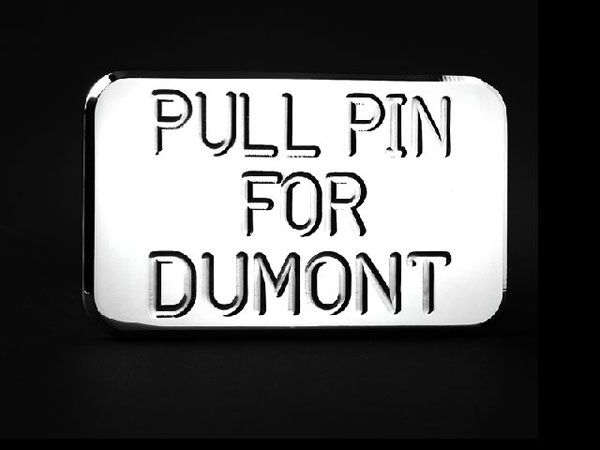 Empire 553P:  (Pull Pin For Dumont) Hitch Cover Fits 2 Inch Hitch Receiver Ford Trucks