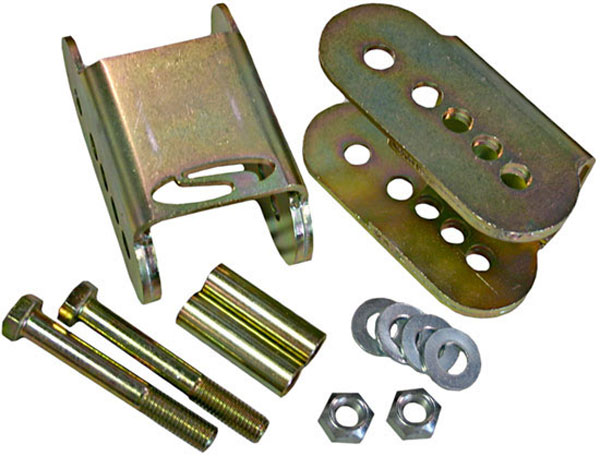 Steeda 555-8119 | Lower Trailing Arm Relocation Brackets - Fits Mustangs V8; 2005-2007