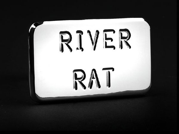 Empire 562P:  (River Rat) Hitch Cover Fits 2 Inch Hitch Receiver GM Trucks