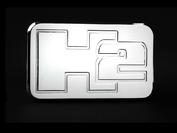 Empire 563P:  (Hummer H2 Inch Hitch Cover Fits 2 Inch Hitch Receiver Dodge Trucks