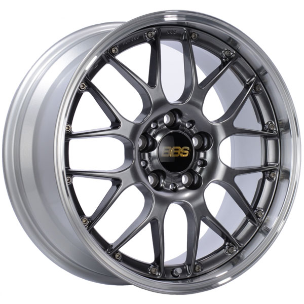 BBS RS983DBPK | RS-GT 20x8.5 5x114.3 ET43 Diamond Black Center Diamond Cut Lip Wheel -82mm PFS/Clip Required