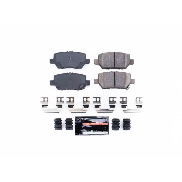PowerStop z23-1090   Power Stop 05-12 Acura RL Rear Z23 Evolution Sport Brake Pads w/Hardware; 2005-2012