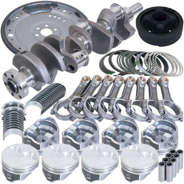 Eagle b16422ea040 | Ford 302 V-Rib Belts 157 Tooth Flexplate Balanced Rotating Assembly 5.400in I-Beam +.040 Bore