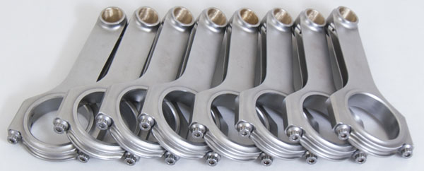 Eagle crs6490f3d | Ford FE H-Beam Connecting Rods (Set of 8)