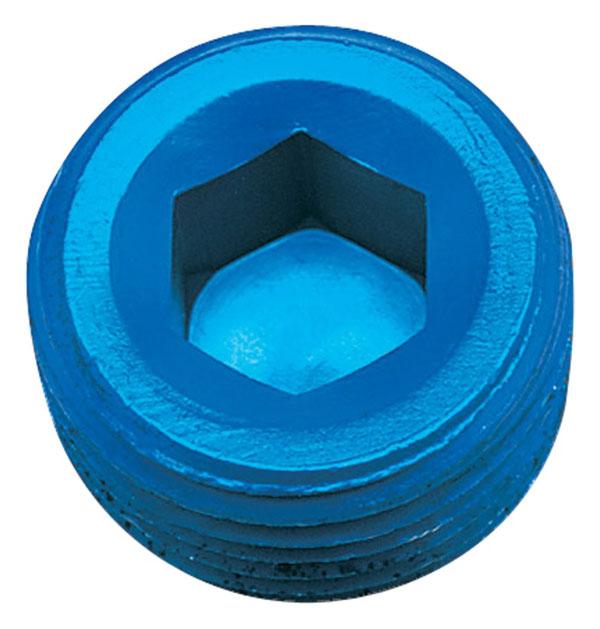 Russell 662060   Performance 1/2in Allen Socket Pipe Plug (Blue)