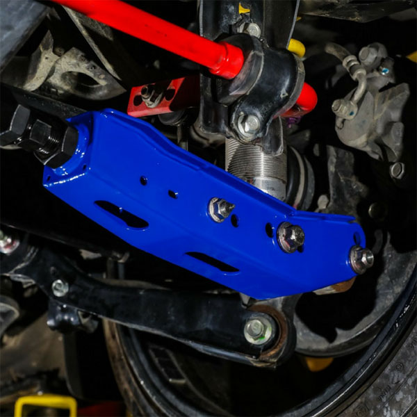 Blox Racing bxss-50010-bl | BLOX Racing Rear Lower Control Arms - Blue (2013+ Subaru BRZ/Toyota 86 / 2008+ Subaru WRX/STI)