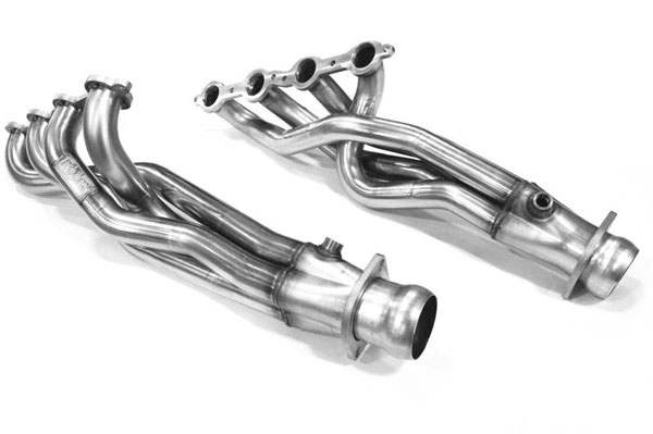 Kooks Headers 2853h230 | Kooks 07-08 Chevrolet Silverado 1500 WT LTZ LT LS 1-3/4 x 3 Header & Green Catted Y-Pipe Kit; 2007-2008