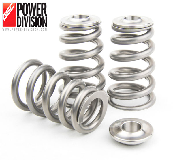 GSC Power Division 5066 | GSC P-D Toyota 2JZ-GTE Single Conical Valve Spring and Ti Retainer Kit