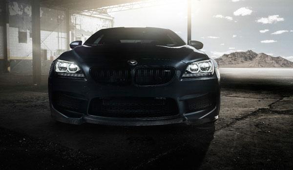 Vorsteiner 6000BMV | BMW F12 M6 VRS Aero Front Spoiler Carbon Fiber PP 1x1 Glossy; 2012-2017